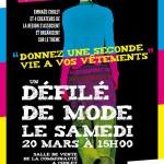 Un défilé de mode - Communauté Emmaüs de Cholet