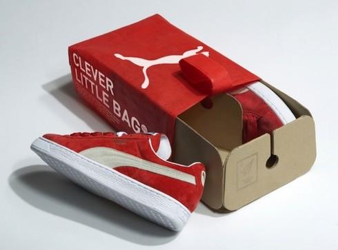 Puma abandonne la bo te chaussures les pieds dans la toile - Boite a chaussure en carton ...
