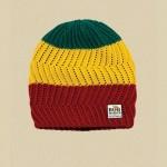 Bonnet Billabong x Bob Marley en coton biologique