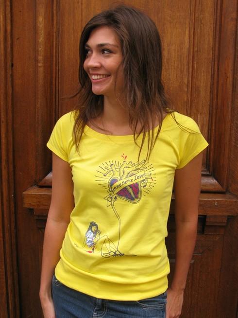 Tee-shirt Monsieur Poulet - biologique et équitable - Margaux Motin