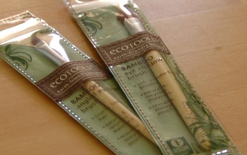 Pinceaux à maquillage écologique Ecotools