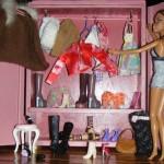 Le dressing de Barbie