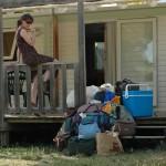 Arrivée au camping