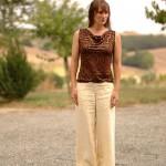Pantalon en chanvre